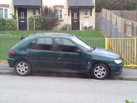 Peugeot 306 HDI Meridian 2 litre turbo, lether interior, electric windows, air con, alloy wheels