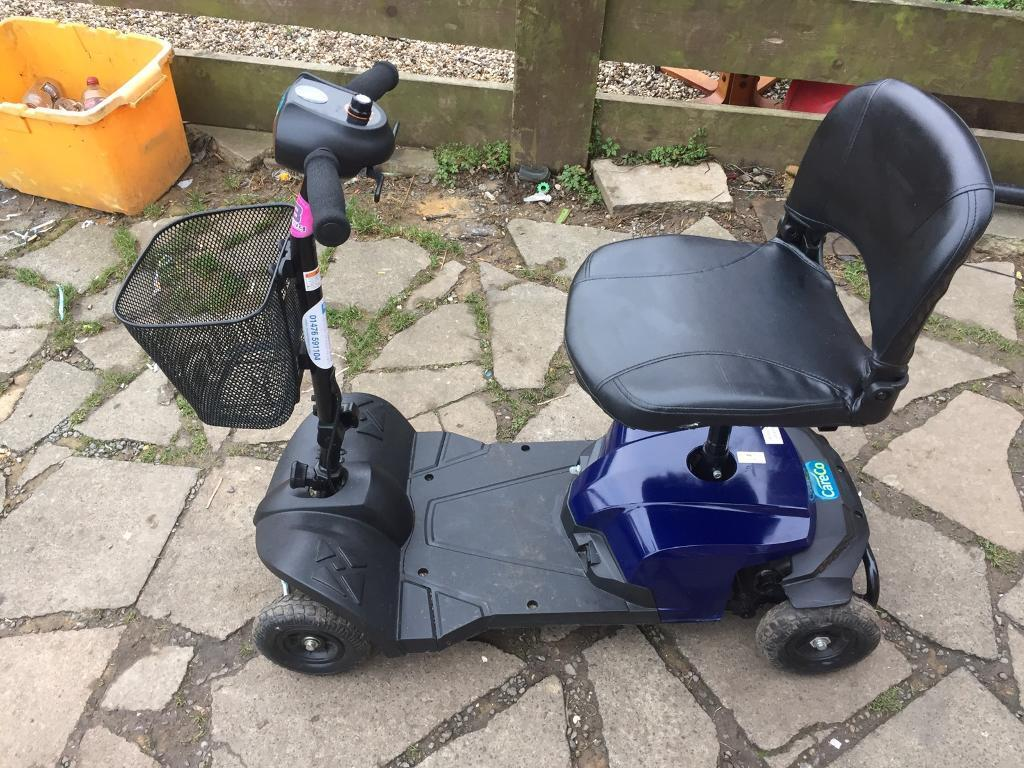 Mobility scooter 6 moths old in good working older £200