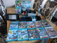 Nintendo Wii U mario cart 8 premium pack Wii u console,and bundle controls amibos and games package