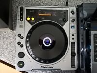 PAIR of Pioneer CDJ-800 Mk1 DVS Controllers with Rekordbox MIDI CD's included.