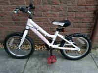 Ridge back melody girl 16inch wheel bike