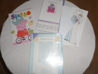 4 new greetings card all for 50p