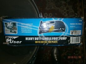 Pro User foot pump Heavy duty car bicycle