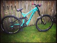 Trek Session 88 2016 downhill bike SDG ODI cube mondraker norco