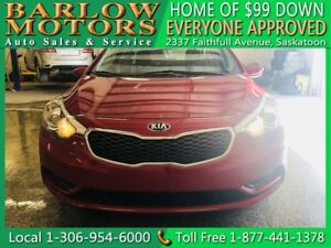 2015 Kia Forte 1.8L LX | $99 DOWN EVERYONE APPROVED!!!
