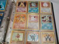 complete 102/102 pokemon cards