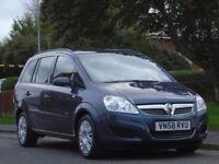 Vauxhall Zafira 1.6 i 16v Life 5dr£1,799 p/x welcome 1 OWNER,GOOD SRVICE,FULL MOT