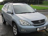LEXUS RX350 2006 PETROL , AUTOMATIC ,MOT 27 JULY 2018,NO ADVISORIES, JUST SERVICED ,NEW DISC