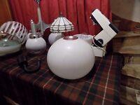 Retro Guzzini Style Light / Lamp Shade