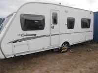 2008 Swift Colonsay Fixed Bed 1 Owner Motor Mover & Accessories 4 Berth