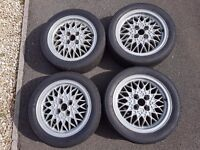 """BBS RA 15"""" 4x100 / Toyo Proxes R888 Tyres"""