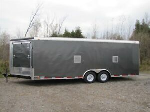2018 Atlas Specialty Trailers 8.5'x27' CAR/ATV/SLED COMBO Order