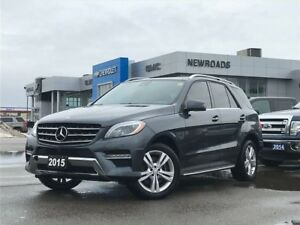 2015 Mercedes-Benz M-Class ML350 BlueTEC 4MATIC, NAV, ONE OWN...