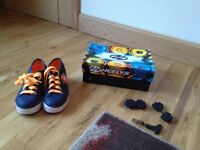 Heelys size 1 (although big size 1). Hardly used