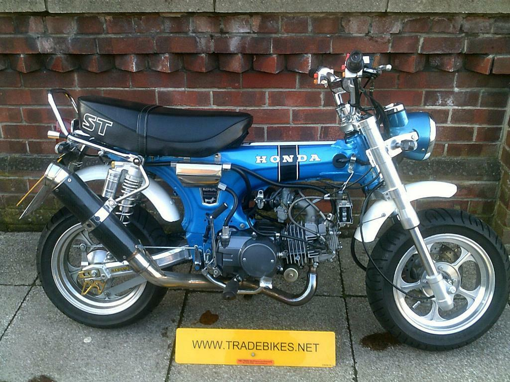 honda st125 dax replica modified 2007 in southsea hampshire gumtree. Black Bedroom Furniture Sets. Home Design Ideas