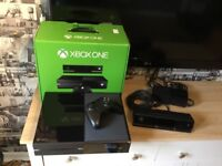 XBox One Console, Kinect, 18 Games and Guitar
