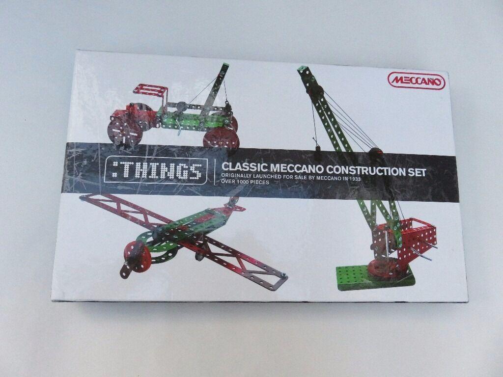 Meccano: Classic Meccano Construction Set