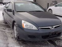 2007 Honda Accord Nice Condition With Reasonable KM's equals Gre