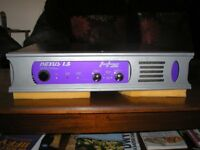 NEXUS 1.5 Stereo Power Amp by Hz; light & powerful; VCG