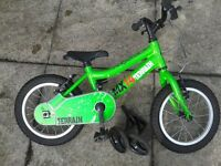 Kids / Childs Ridgeback MX 14 Bike - aprox suitable for 3+ year old child