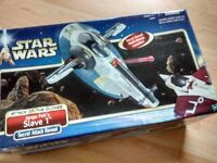 Star Wars Slave One - 2001 Attack of the Clones - NEW Unopened