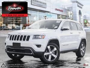 2016 Jeep Grand Cherokee Limited Leather sunroof Back Up Camera