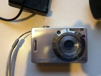 Sony Cyber-shot DSC-W55 7.2MP Digital Camera - Silver