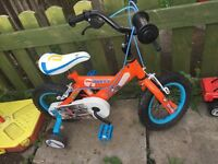 "Boys 12"" Disney Planes Bike"