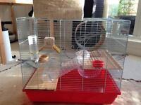 hamster cage rat gebril