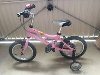 """Girls 12"""" Honey Ridgeback Bike"""