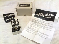 Magnetic Effects White Atom fuzz/distortion pedal