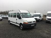 RENAULT MASTER LM35 2,5 DCI MINIBUS AUTOMATIC##1 OWNER FROM CHARITY#IDEAL CAMPER##