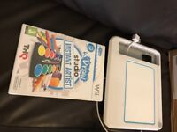Wii draw and game