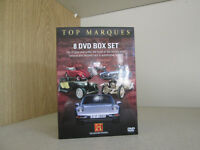 Classic car dvd boxed set - Top Marques - 8 dvd box set (The History Channel)-Like New/OFFERS