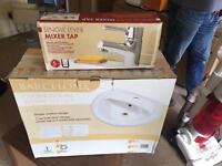 Cloakroom Basin & Mixer Tap