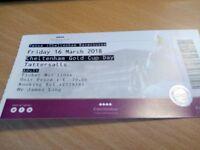cheltenham gold cup day ticket - tattersalls enclosure