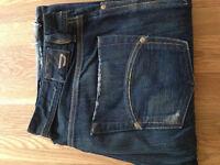 "Diesel Men's Bootcut Jeans (34""W x 32""L) (never worn)"