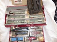 Gilbert HO American Train items