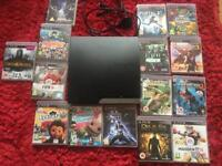 PlayStation 3 300GB with games