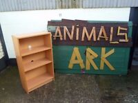 Light Wood Book Shelves Delivery Available