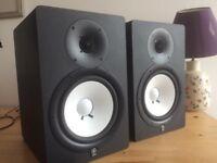 Yamaha HS80M (pair) 2 way bass-reflex near-field studios monitors 120w