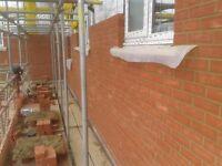 Bricklaying gang looking price work