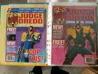 Judge Dredd lawman of the future