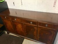 Regency reproduction sideboard.