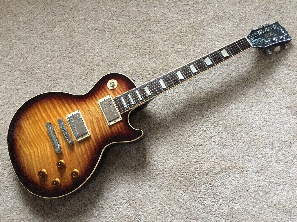 2016 gibson les paul standard desert burst with case and candy in penrith cumbria gumtree. Black Bedroom Furniture Sets. Home Design Ideas
