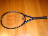 Wilson Triad 4.0 with Hammer Technology Tennis Racket (never used in mint condition)