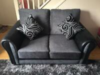 2 seater and large Swivel Chair *like new*