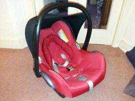 Used maxicosi car seat 0+