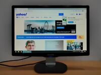 "Philips 22"" WideScreen LCD Full HD Monitor"