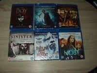 COLLECTION OF BLU-RAYS & DVDS